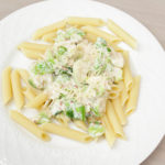 Parmesan Alfredo Brussels Sprouts
